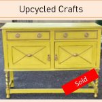 English Yellow Buffet SOLD